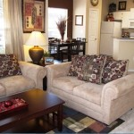 Bristol Oaks Apartment Living Room