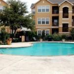 Bristol Oaks Apartment Pool Area
