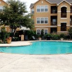 Bristol Oaks Apartment Pool Area