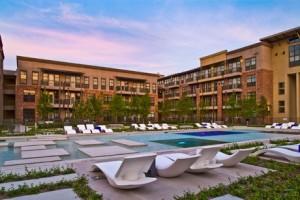 Austin Ranch Apartment Building Area