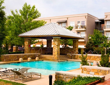 Austin Ranch Apartment Cabana Pool - The Colony Apartments