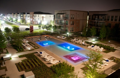 Austin Ranch Apartment Sawyer Pool - The Colony Apartments